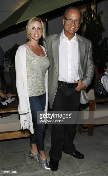 Actor Kelsey Grammer and Camille Grammer attend an after party following a screening of '500 Days Of Summer' hosted by The Cinema Society with Brooks...