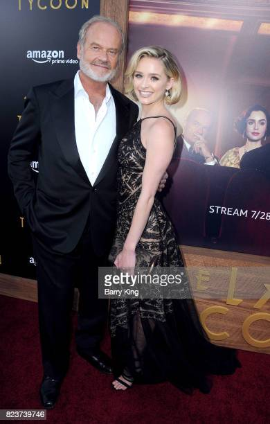 Actor Kelsey Grammer and daughter actress Greer Grammer attend the premiere of Amazon Studios' 'The Last Tycoon' at the Harmony Gold Preview House...