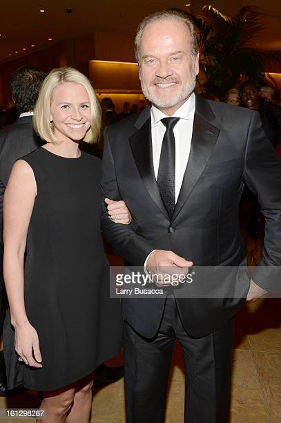 Actor Kelsey Grammer and Kayte Walsh arrive at the 55th Annual GRAMMY Awards PreGRAMMY Gala and Salute to Industry Icons honoring LA Reid held at The...
