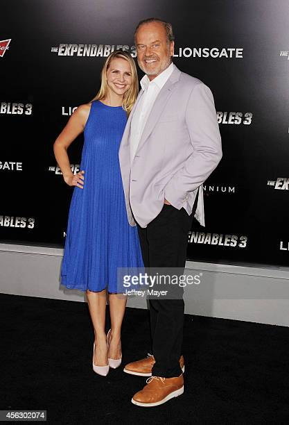 Actor Kelsey Grammer and Kayte Walsh arrive at the Los Angeles premiere of 'The Expendables 3' at TCL Chinese Theatre on August 11 2014 in Hollywood...