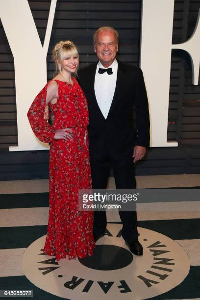 Actor Kelsey Grammer and Kayte Walsh attend the 2017 Vanity Fair Oscar Party hosted by Graydon Carter at the Wallis Annenberg Center for the...