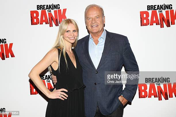Actor Kelsey Grammer and Kayte Walsh attend the UK Gala Screening of 'Breaking the Bank' at Empire Leicester Square on May 31 2016 in London England