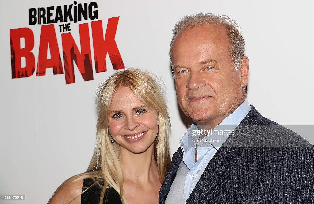 Actor <a gi-track='captionPersonalityLinkClicked' href=/galleries/search?phrase=Kelsey+Grammer&family=editorial&specificpeople=210500 ng-click='$event.stopPropagation()'>Kelsey Grammer</a> and <a gi-track='captionPersonalityLinkClicked' href=/galleries/search?phrase=Kayte+Walsh&family=editorial&specificpeople=7285479 ng-click='$event.stopPropagation()'>Kayte Walsh</a> attend the UK Gala Screening of 'Breaking the Bank' at Empire Leicester Square on May 31, 2016 in London, England.