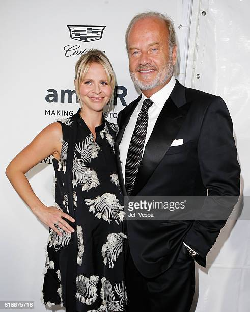 Actor Kelsey Grammer and producer Kayte Walsh attend amfAR's Inspiration Gala Los Angeles at Milk Studios on October 27 2016 in Hollywood California
