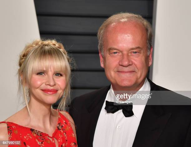 Actor Kelsey Grammer and producer Kayte Walsh attend the 2017 Vanity Fair Oscar Party hosted by Graydon Carter at Wallis Annenberg Center for the...
