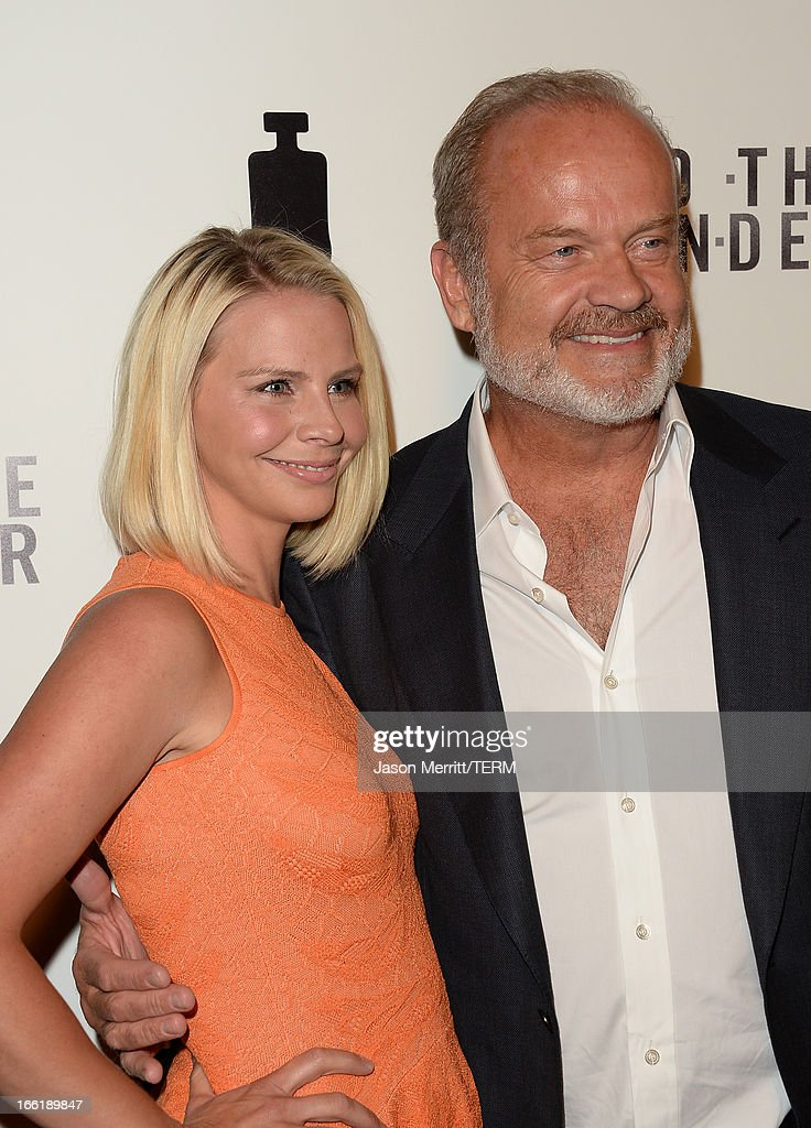 Actor Kelsey Grammer (R) and wife Kayte Walsh attend the premiere of Magnolia Pictures' 'To The Wonder' at Pacific Design Center on April 9, 2013 in West Hollywood, California.