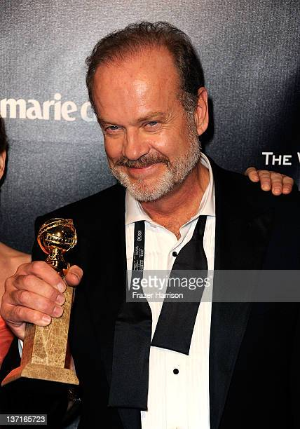 Actor Kelsey Grammer arrives at The Weinstein Company's 2012 Golden Globe Awards After Party at The Beverly Hilton hotel on January 15 2012 in...