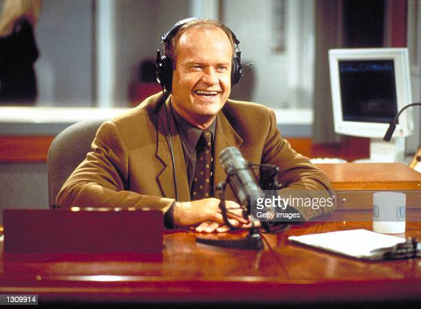 Actor Kelsey Grammer as Frasier Crane in NBC''s television comedy series 'Frasier' Episode 'Mary Christmas' As excitement builds over his hosting the...
