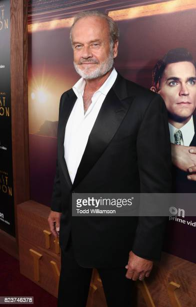 Actor Kelsey Grammer at the Amazon Prime Video premiere of the original drama series 'The Last Tycoon' at Harmony Gold Theatre on July 27 2017 in Los...