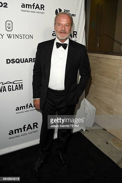 Actor Kelsey Grammer attends amfAR's Inspiration Gala Los Angeles at Milk Studios on October 29 2015 in Hollywood California
