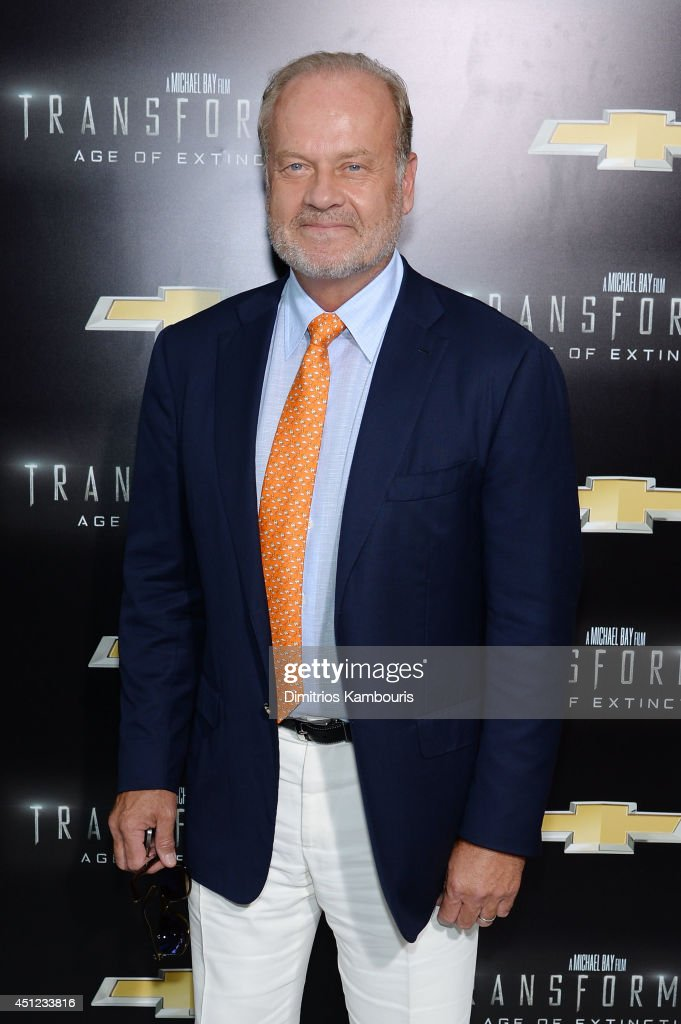 Actor <a gi-track='captionPersonalityLinkClicked' href=/galleries/search?phrase=Kelsey+Grammer&family=editorial&specificpeople=210500 ng-click='$event.stopPropagation()'>Kelsey Grammer</a> attends the New York Premiere of 'Transformers: Age Of Extinction' at the Ziegfeld Theatre on June 25, 2014 in New York City.
