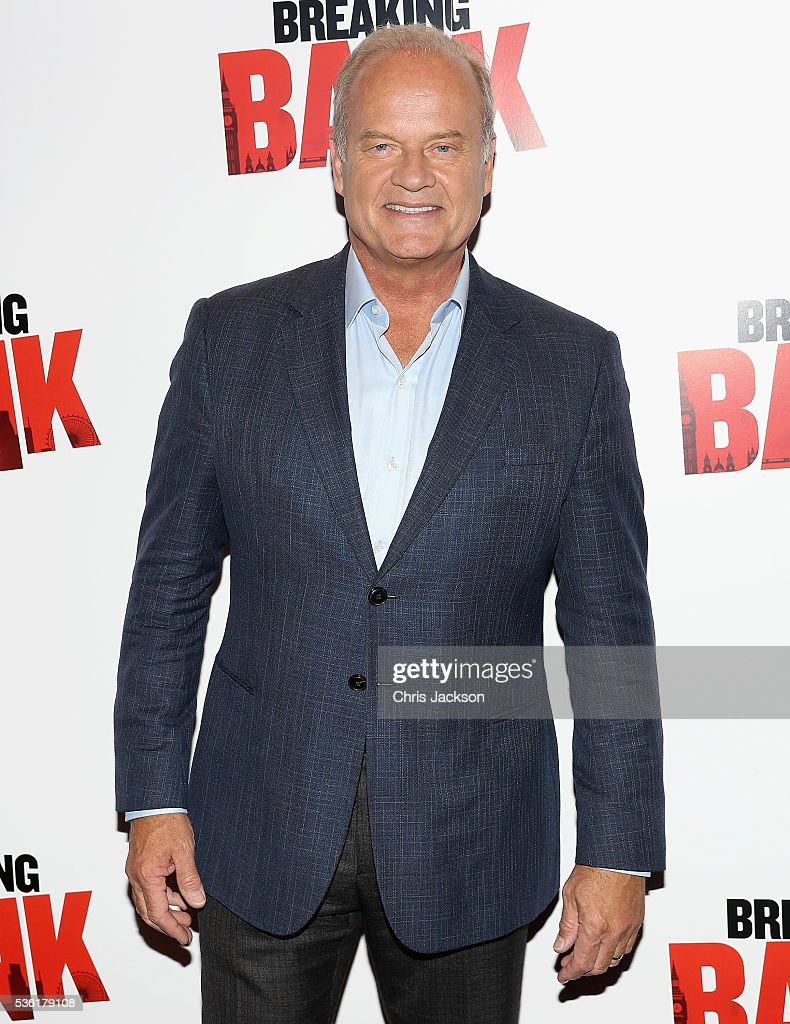 Actor <a gi-track='captionPersonalityLinkClicked' href=/galleries/search?phrase=Kelsey+Grammer&family=editorial&specificpeople=210500 ng-click='$event.stopPropagation()'>Kelsey Grammer</a> attends the UK Gala Screening of 'Breaking the Bank' at Empire Leicester Square on May 31, 2016 in London, England.
