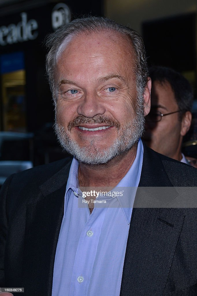 Actor <a gi-track='captionPersonalityLinkClicked' href=/galleries/search?phrase=Kelsey+Grammer&family=editorial&specificpeople=210500 ng-click='$event.stopPropagation()'>Kelsey Grammer</a> enters the 'Today Show' taping at the NBC Rockefeller Center Studios on August 16, 2012 in New York City.