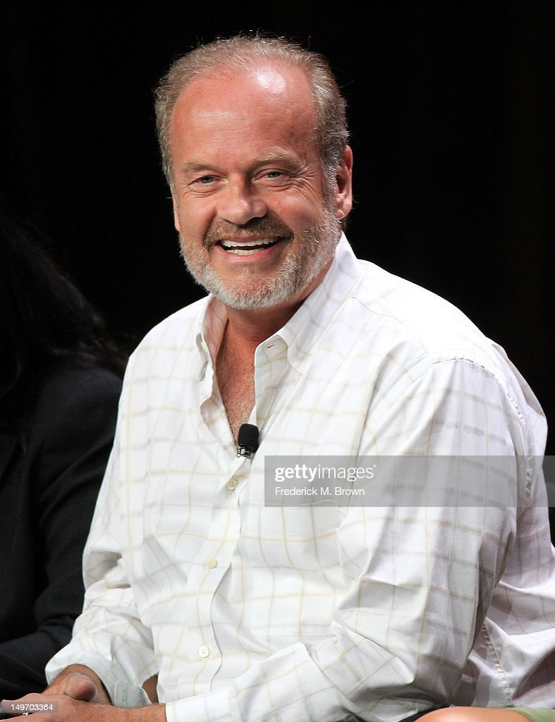 Actor <a gi-track='captionPersonalityLinkClicked' href=/galleries/search?phrase=Kelsey+Grammer&family=editorial&specificpeople=210500 ng-click='$event.stopPropagation()'>Kelsey Grammer</a> speaks at the 'Boss' discussion panel during the Starz portion of the 2012 Summer Television Critics Association tour at the Beverly Hilton Hotel on August 2, 2012 in Los Angeles, California.