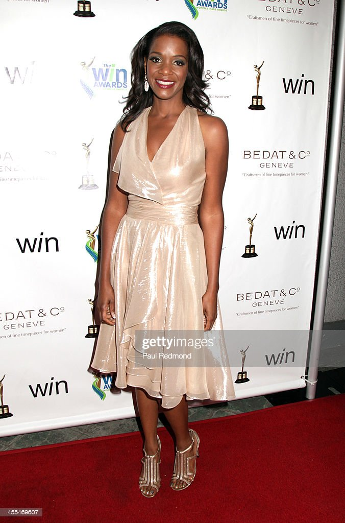 Actor Kelsey Scott arrives at The Annual Women's Image Awards at Santa Monica Bay Woman's Club on December 11, 2013 in Santa Monica, California.