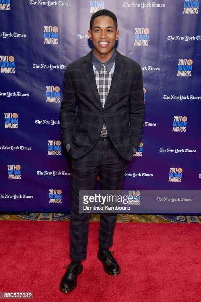 Actor Kelvin Harrison Jr attends IFP's 27th Annual Gotham Independent Film Awards on November 27 2017 in New York City