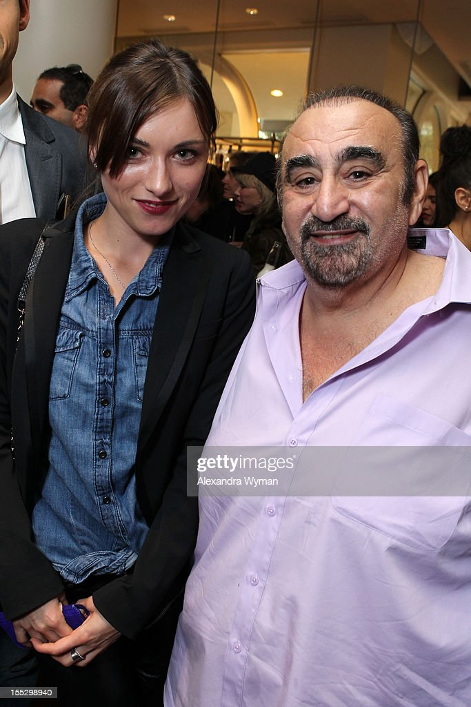 Actor Ken Davitian (R) and attendee attend American Film Market - Day 3 at the Loews Santa Monica Beach Hotel on November 2, 2012 in Santa Monica, California.