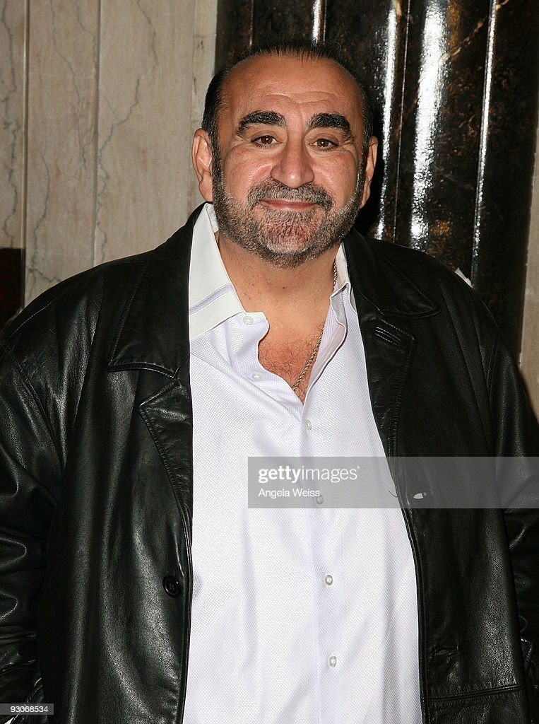 Actor Ken Davitian attends the Los Angeles premiere of Dr. Seuss' 'How The Grinch Stole Christmas' at the Pantages Theatre on November 14, 2009 in Los Angeles, California.
