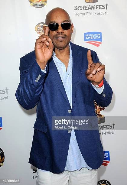 Actor Ken Foree arrives for the Screamfest Horror Film Festival Opening Night Screening Of 'Tales Of Halloween' held at TCL Chinese 6 Theatres on...