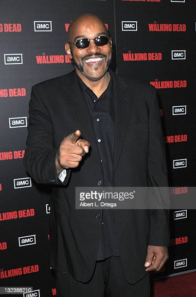 Actor Ken Foree at the premiere of AMC's 'The Walking Dead' 2nd Season at LA Live Theaters on October 3 2011 in Los Angeles California