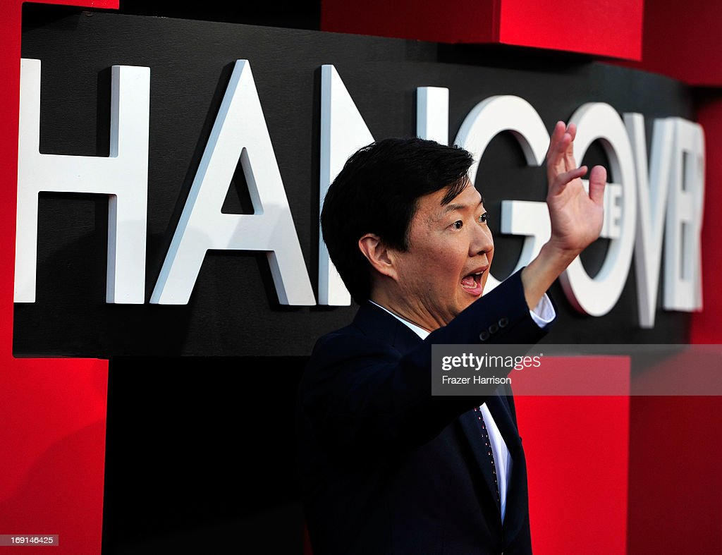Actor Ken Jeong arrives at the premiere of Warner Bros. Pictures' 'Hangover Part 3' on May 20, 2013 in Westwood, California.