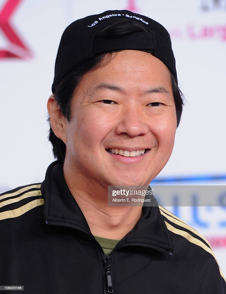 Actor <a gi-track='captionPersonalityLinkClicked' href=/galleries/search?phrase=Ken+Jeong&family=editorial&specificpeople=4195975 ng-click='$event.stopPropagation()'>Ken Jeong</a> arrives to the T-Mobile Magenta Carpet at the 2011 NBA All-Star Game on February 20, 2011 in Los Angeles, California.