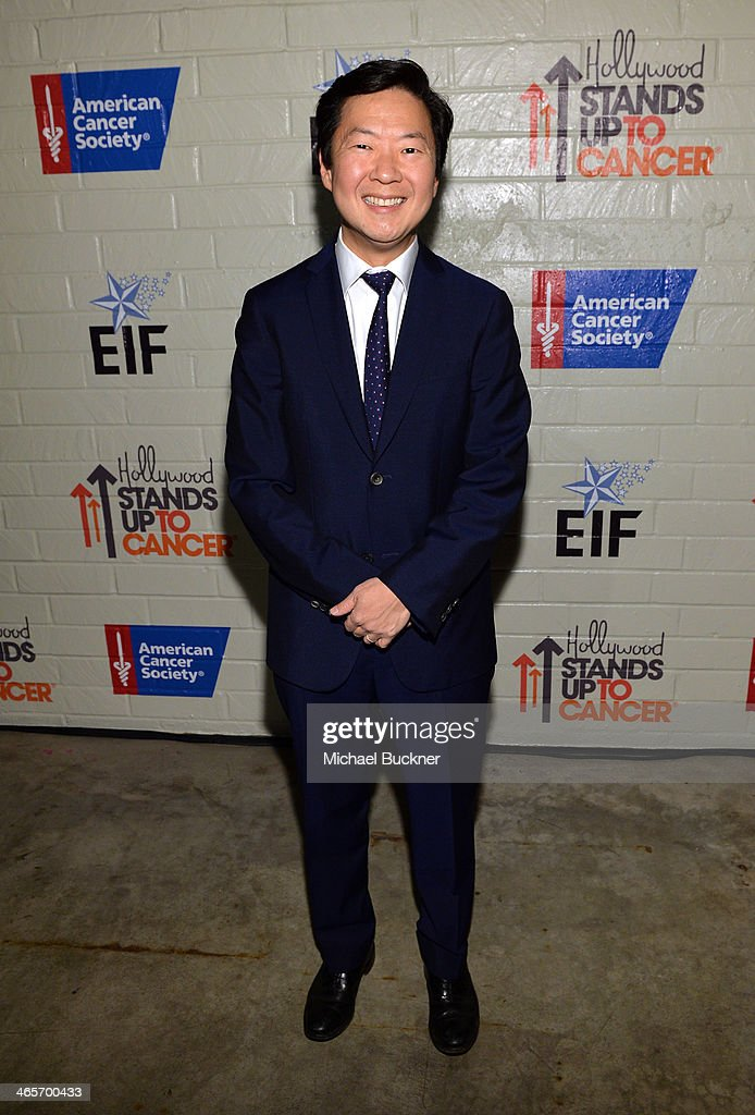 Actor <a gi-track='captionPersonalityLinkClicked' href=/galleries/search?phrase=Ken+Jeong&family=editorial&specificpeople=4195975 ng-click='$event.stopPropagation()'>Ken Jeong</a> attends Hollywood Stands Up To Cancer Event with contributors American Cancer Society and Bristol Myers Squibb hosted by Jim Toth and Reese Witherspoon and the Entertainment Industry Foundation on Tuesday, January 28, 2014 in Culver City, California.