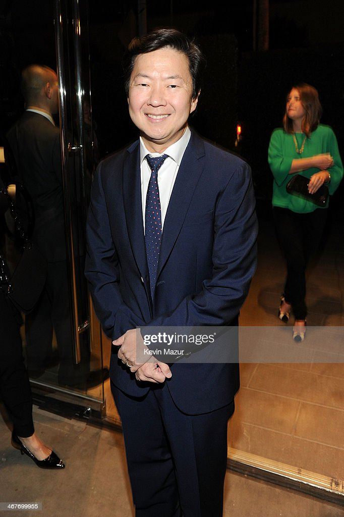 Actor Ken Jeong attends Hollywood Stands Up To Cancer Event with contributors American Cancer Society and Bristol Myers Squibb hosted by Jim Toth and Reese Witherspoon and the Entertainment Industry Foundation on Tuesday, January 28, 2014 in Culver City, California.