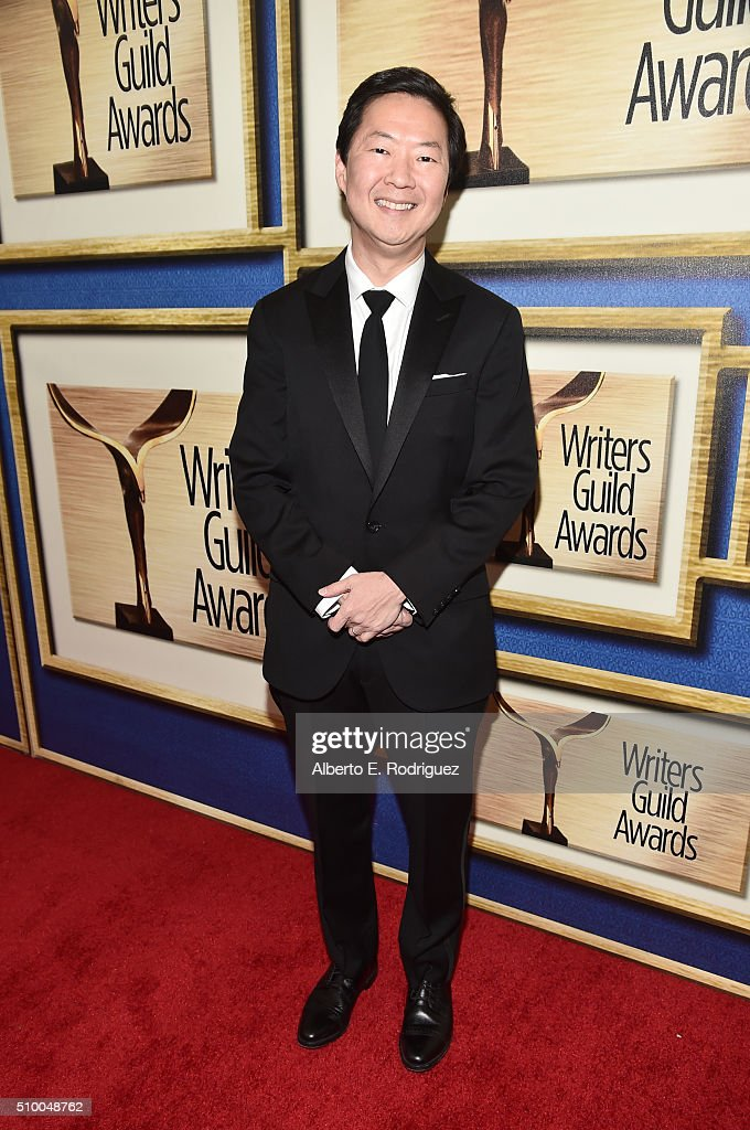 Actor <a gi-track='captionPersonalityLinkClicked' href=/galleries/search?phrase=Ken+Jeong&family=editorial&specificpeople=4195975 ng-click='$event.stopPropagation()'>Ken Jeong</a> attends the 2016 Writers Guild Awards at the Hyatt Regency Century Plaza on February 13, 2016 in Los Angeles, California.