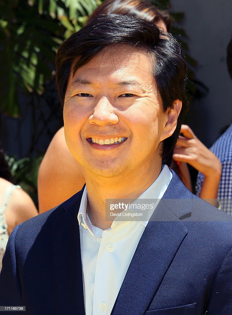 Actor <a gi-track='captionPersonalityLinkClicked' href=/galleries/search?phrase=Ken+Jeong&family=editorial&specificpeople=4195975 ng-click='$event.stopPropagation()'>Ken Jeong</a> attends the premiere of Universal Pictures' 'Despicable Me 2' at the Gibson Amphitheatre on June 22, 2013 in Universal City, California.