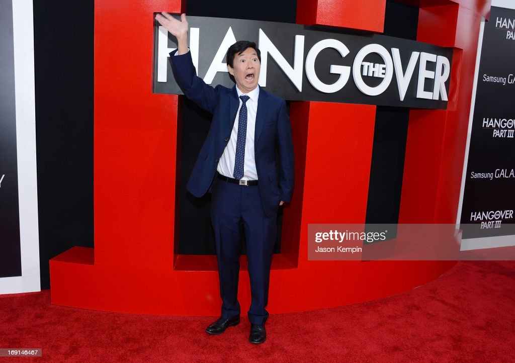 Actor Ken Jeong attends the premiere of Warner Bros. Pictures' 'Hangover Part 3' on May 20, 2013 in Westwood, California.