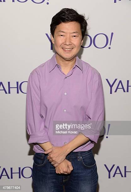 Actor Ken Jeong attends the LA Times Envelope Emmy event for 'Community' on Yahoo Screen at ArcLight Sherman Oaks on June 2 2015 in Sherman Oaks...