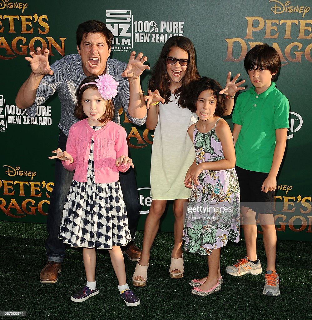 Actor Ken Marino and guests attend the premiere of 'Pete's Dragon' at the El Capitan Theatre on August 8 2016 in Hollywood California