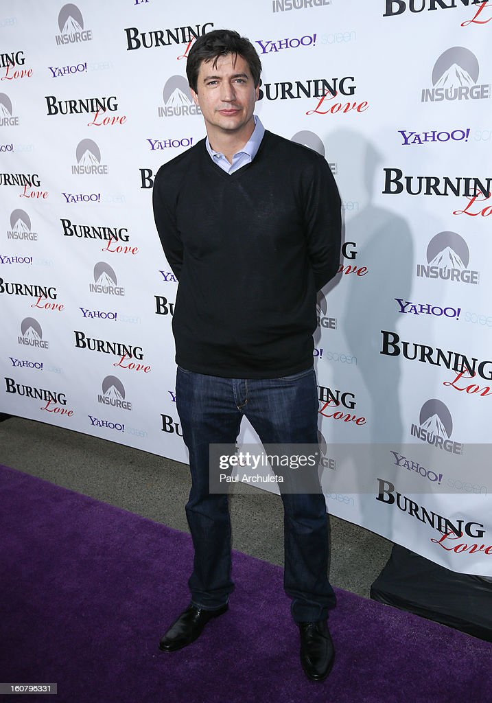 Actor Ken Marino attends the 'Burning Love' Season 2 Los Angeles Premiere at Paramount Theater on the Paramount Studios lot on February 5, 2013 in Hollywood, California.