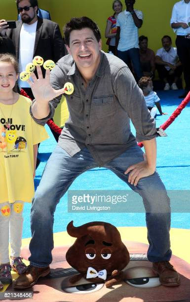 Actor Ken Marino attends the premiere of Columbia Pictures and Sony Pictures Animation's 'The Emoji Movie' at Regency Village Theatre on July 23 2017...