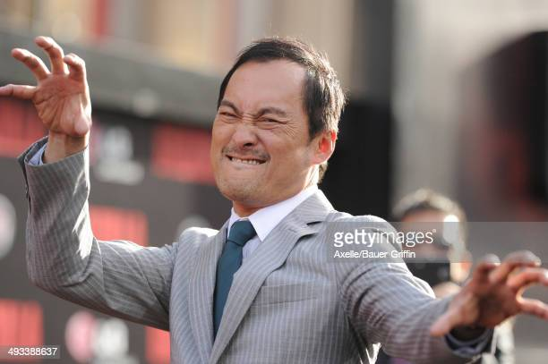 Actor Ken Watanabe arrives at the Los Angeles premiere of 'Godzilla' at Dolby Theatre on May 8 2014 in Hollywood California