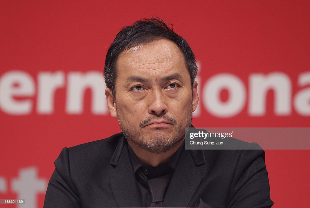 Actor Ken Watanabe atend the Open Talk 'Unforgiven' at the BIFF Hill during 18th Busan International Film Festival (BIFF) on October 8, 2013 in Busan, South Korea. The biggest film festival in Asia showcases 299 films from 70 countries and runs from October 3-12.
