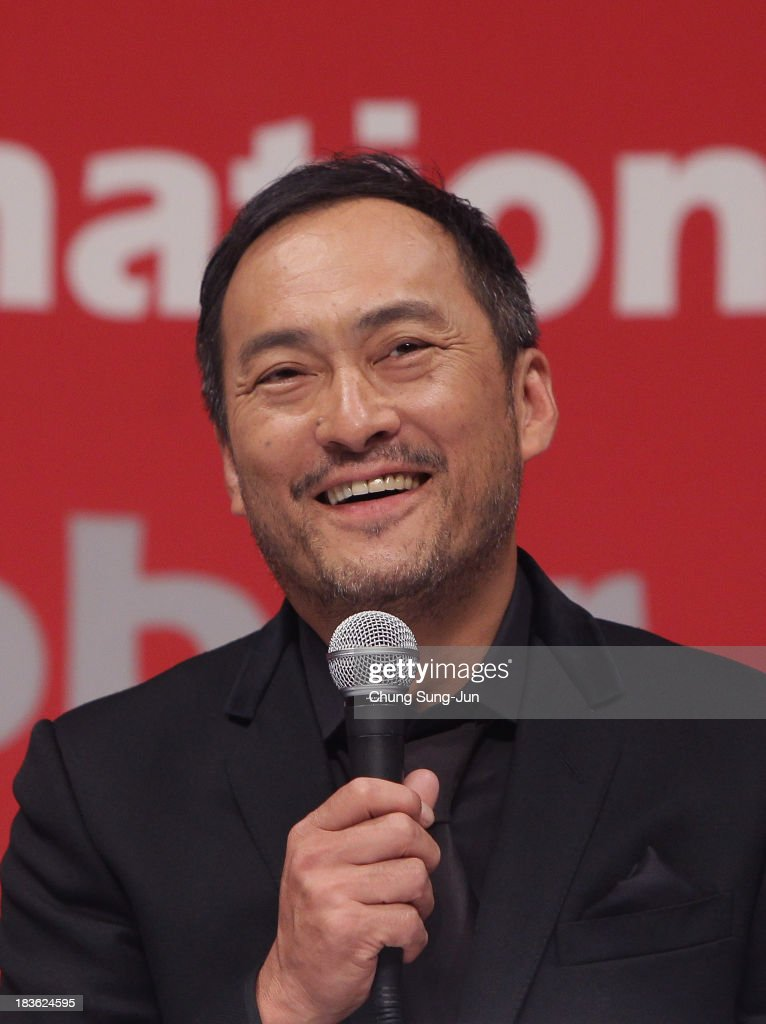 Actor Ken Watanabe atends the Gala Presentation 'Unforgiven' at the BIFF Hill during 18th Busan International Film Festival (BIFF) on October 8, 2013 in Busan, South Korea. The biggest film festival in Asia showcases 299 films from 70 countries and runs from October 3-12.