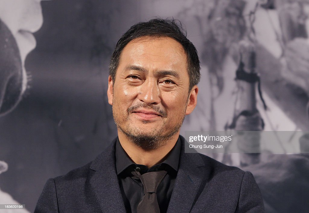 Actor <a gi-track='captionPersonalityLinkClicked' href=/galleries/search?phrase=Ken+Watanabe&family=editorial&specificpeople=214016 ng-click='$event.stopPropagation()'>Ken Watanabe</a> atends the Open Talk 'Unforgiven' at the BIFF Hill during 18th Busan International Film Festival (BIFF) on October 8, 2013 in Busan, South Korea. The biggest film festival in Asia showcases 299 films from 70 countries and runs from October 3-12.