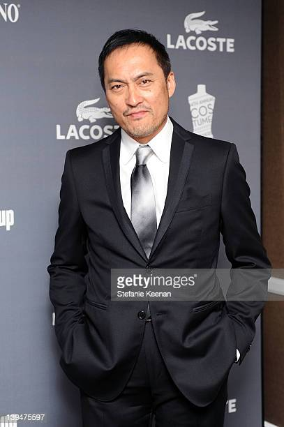 Actor Ken Watanabe attends the 14th Annual Costume Designers Guild Awards With Presenting Sponsor Lacoste held at The Beverly Hilton hotel on...