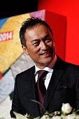 Actor Ken Watanabe attends the opening ceremony of the 19th Busan International Film Festival at the Busan Cinema Center on October 2 2014 in Busan...