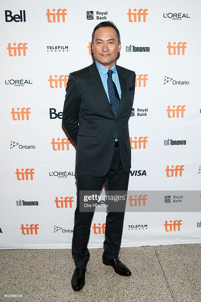 Actor Ken Watanabe attends the premiere of 'Rage' during the 2016 Toronto International Film Festival at The Elgin on September 10, 2016 in Toronto, Canada.