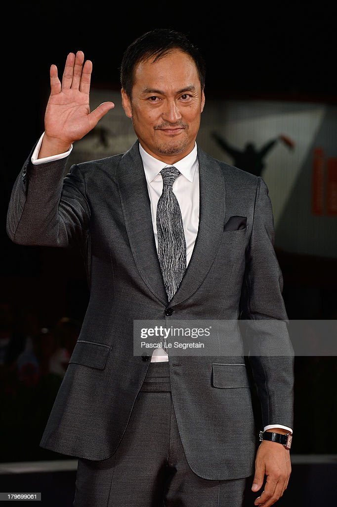 Actor <a gi-track='captionPersonalityLinkClicked' href=/galleries/search?phrase=Ken+Watanabe&family=editorial&specificpeople=214016 ng-click='$event.stopPropagation()'>Ken Watanabe</a> attends 'Unforgiven' Premiere during the 70th Venice International Film Festival at Palazzo del Cinema on September 6, 2013 in Venice, Italy.