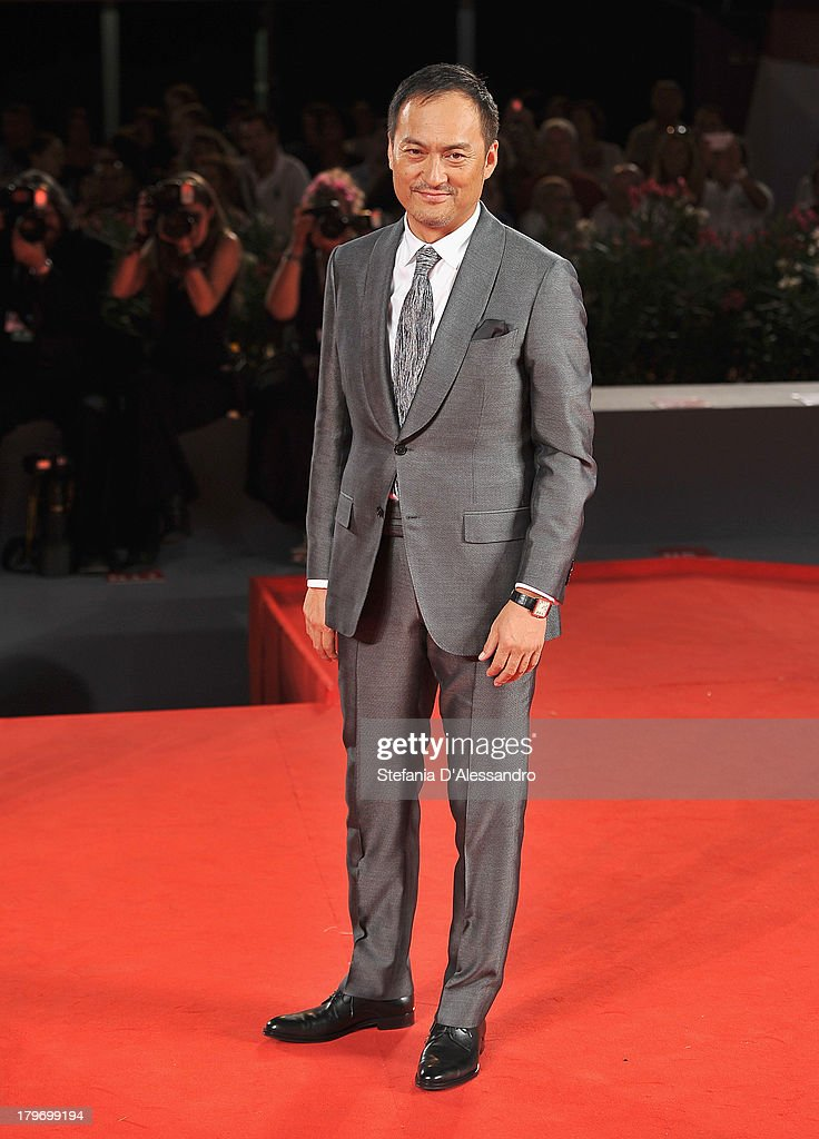 Actor <a gi-track='captionPersonalityLinkClicked' href=/galleries/search?phrase=Ken+Watanabe&family=editorial&specificpeople=214016 ng-click='$event.stopPropagation()'>Ken Watanabe</a> attends 'Yurusarezarumono' Premiere during the 70th Venice International Film Festival at Sala Grande on September 6, 2013 in Venice, Italy.