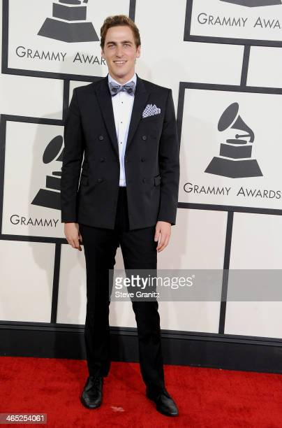 Actor Kendall Schmidt attends the 56th GRAMMY Awards at Staples Center on January 26 2014 in Los Angeles California