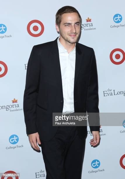 Actor Kendall Schmidt attends the Eva Longoria Foundation annual dinner at The Four Seasons Hotel Los Angeles at Beverly Hills on October 12 2017 in...