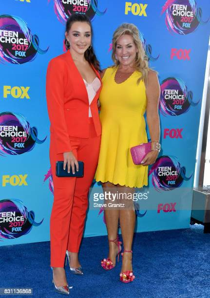 Actor Kendall Vertes and guest attend the Teen Choice Awards 2017 at Galen Center on August 13 2017 in Los Angeles California