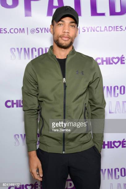 Actor Kendrick Sampson arrives at Chloe Arnold's Syncopated Ladies LA concert premiere at John Anson Ford Amphitheatre on July 28 2017 in Hollywood...