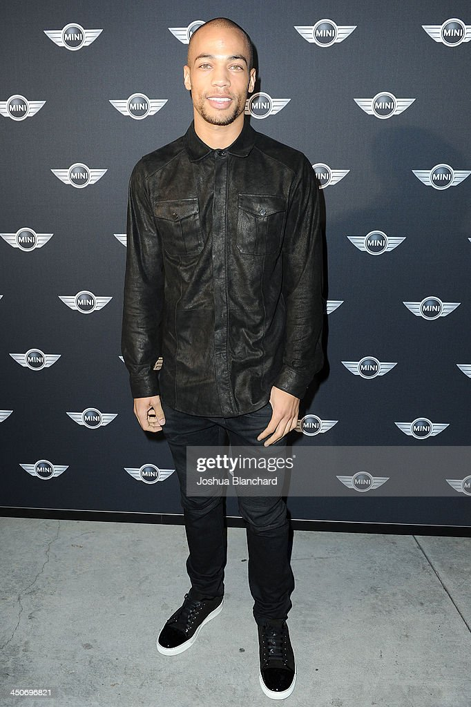 Actor Kendrick Sampson arrives at the Kim Sing Theatre for MINI Cooper Unveils Newest Addition To The MINI Fleet During Los Angeles Auto Show on November 19, 2013 in Los Angeles, California.