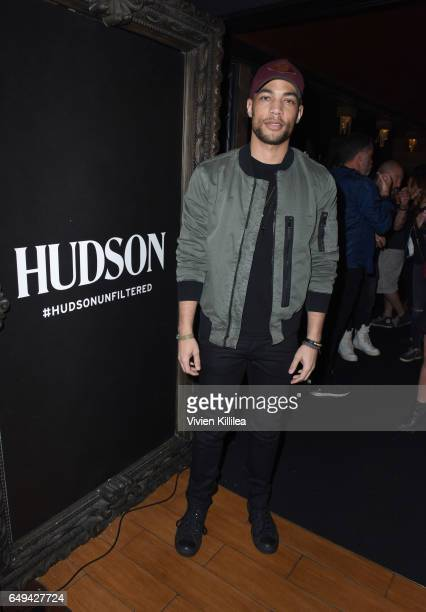 Actor Kendrick Sampson attends a private event hosted by Hudson at Hyde Staples Center for a Red Hot Chili Peppers concert on March 7 2017 in Los...